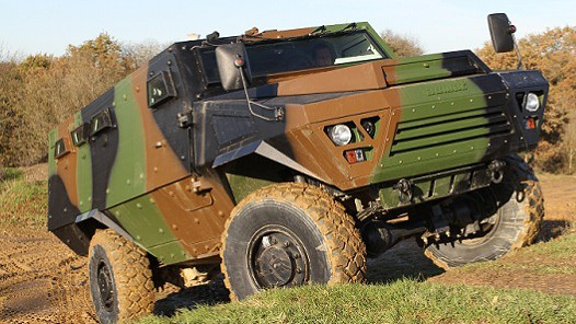 French Bastion 4x4 APC