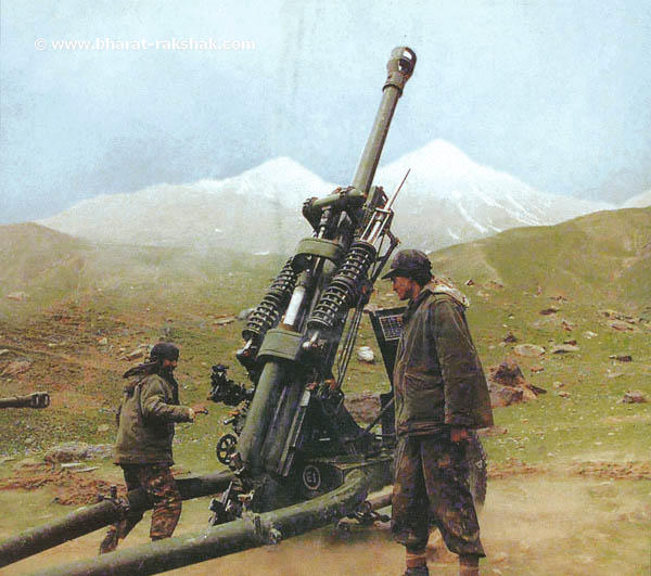 Indian Army light field gun 105mm