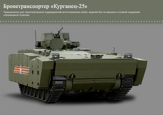 Russian Kurganets-25 APC