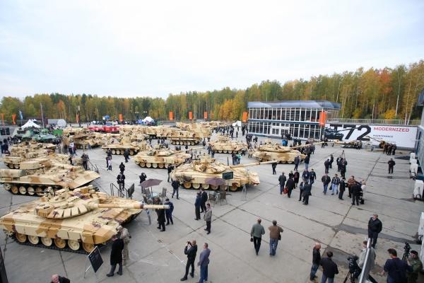 Russian T-72 modernized