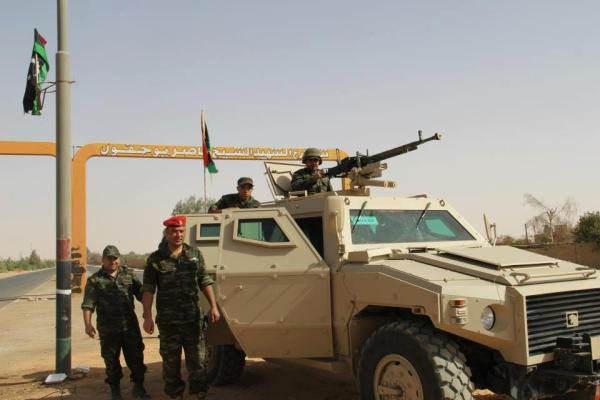 UAE Tawazun Nimr 4x4 Libya