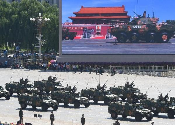 Chinese 4x4 Tiananmen 2015