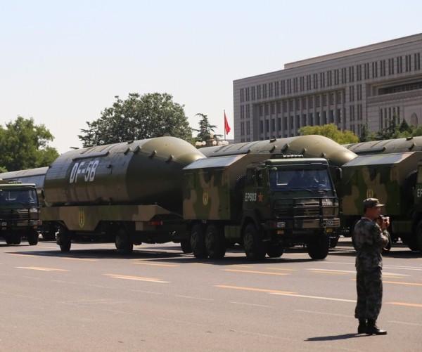 Chinese DF5B ICBM