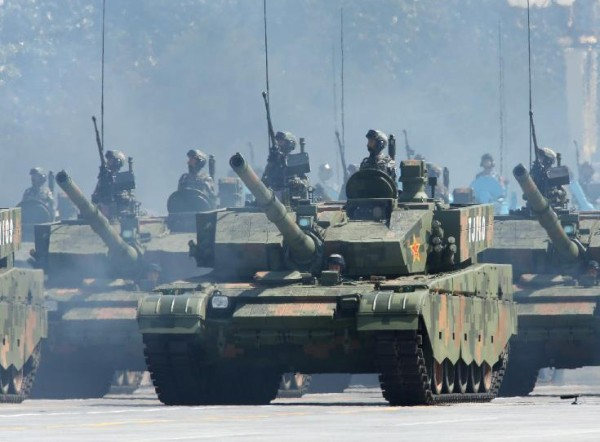Chinese Type 96 06 MBT 2015