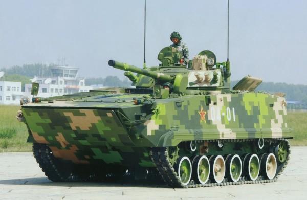 Chinese ZBD-04 02 IFV