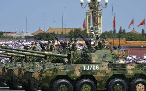 Chinese ZBD-09 8x8 105mm