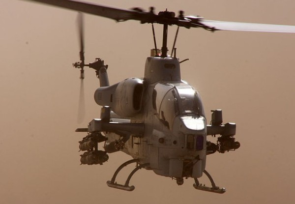 US AH-1 Cobra Attack Helicopter