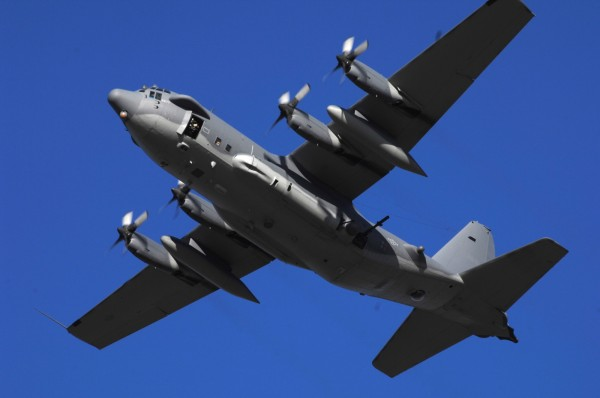 US C-130J Ghostrider