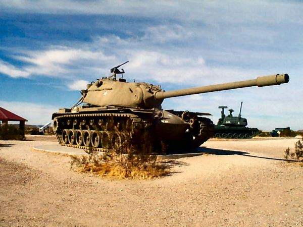 US M103 heavy tank
