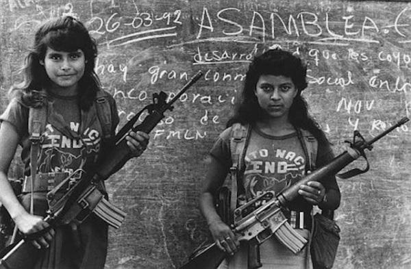 US M16A1 El Salvador