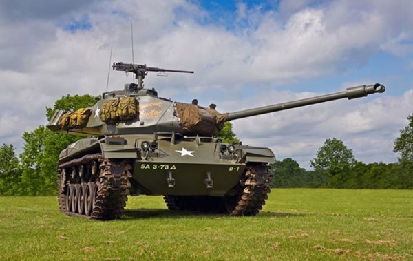 US M41 Walker Bulldog light tank
