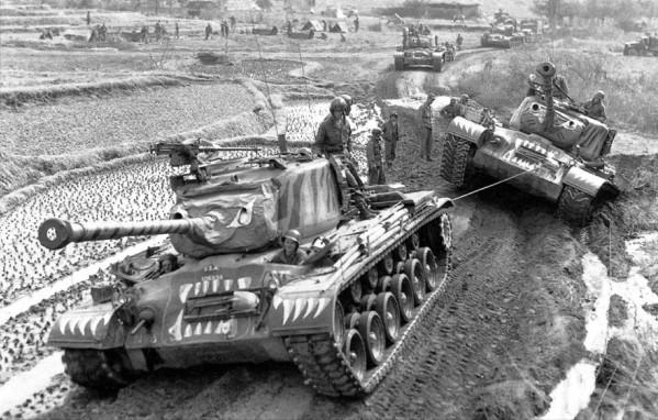 US M46 Pershing tank