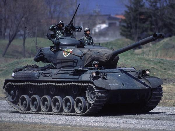 US M47 tank 02