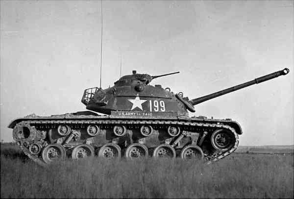 US M48A1 MBT