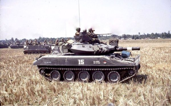 US M551 Sheridan in Vietnam