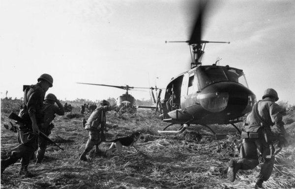 US UH-1H in Vietnam