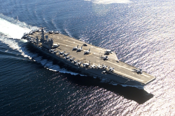 US USS Nimitz aircraft carrier