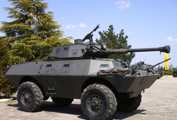 US V150 armored car