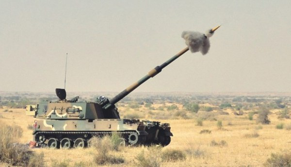 India K9 Vajra 155mm spg