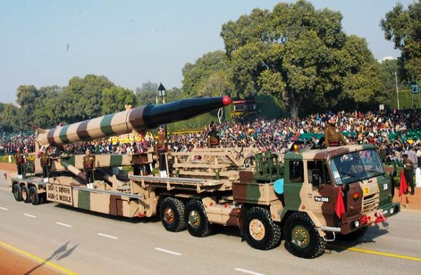 Indian Agni 1 IRBM