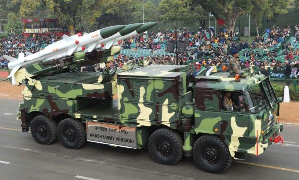 Indian Akash SAM system