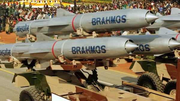 Indian Brahmos cruise missile