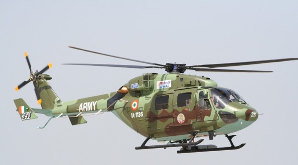 Indian Dhruv multirole helicopter