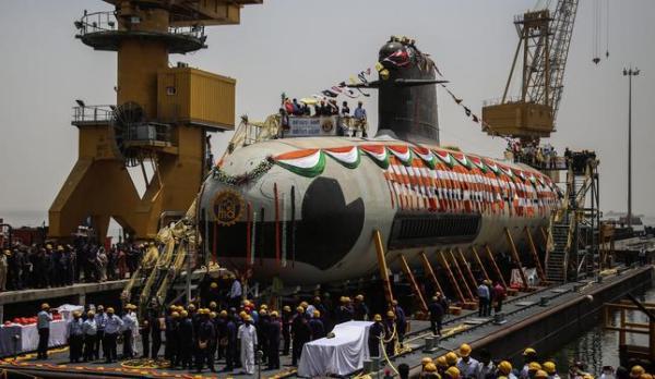 Indian Kalvari-class submarine