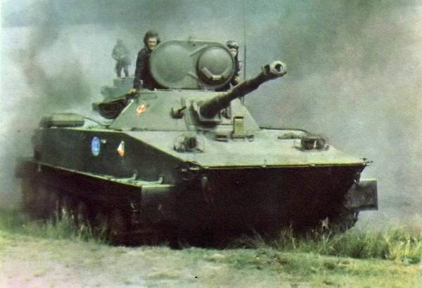 Russian PT-76 amphibious tank 02
