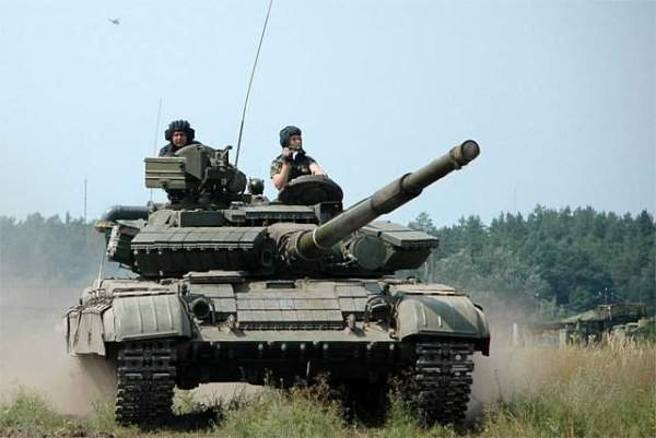 Soviet T-64 MBT