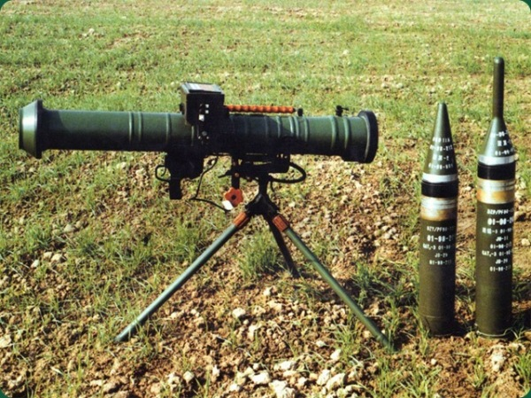 Chinese PF-98 rocket launcher 01