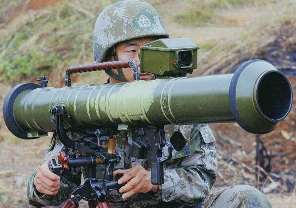 Chinese PF-98 rocket launcher c.2015 02