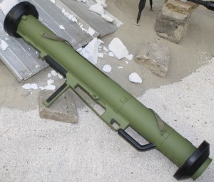 Serbian RBR 120mm M90 rocket launcher