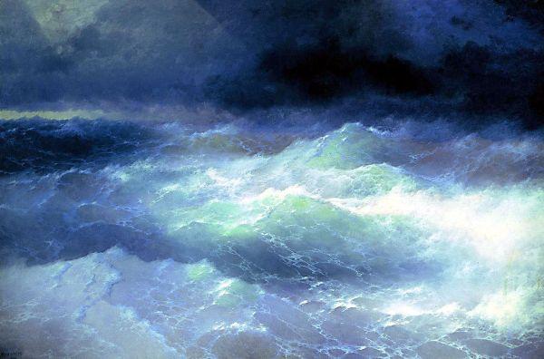 Ukraine Aivazovsky seascape