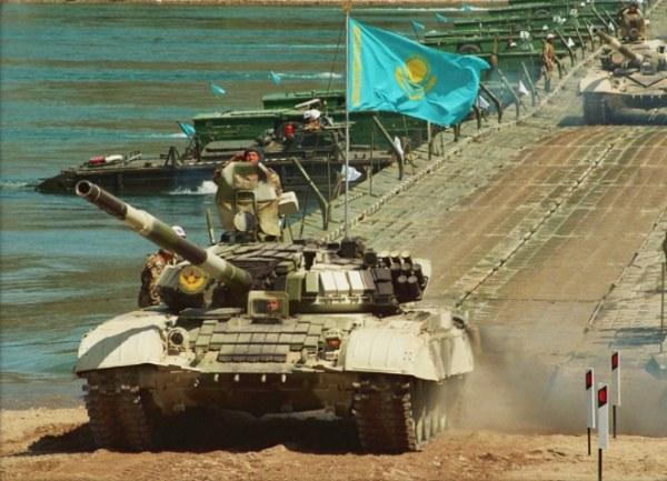 Kazakhstan Army T-72 MBT 01