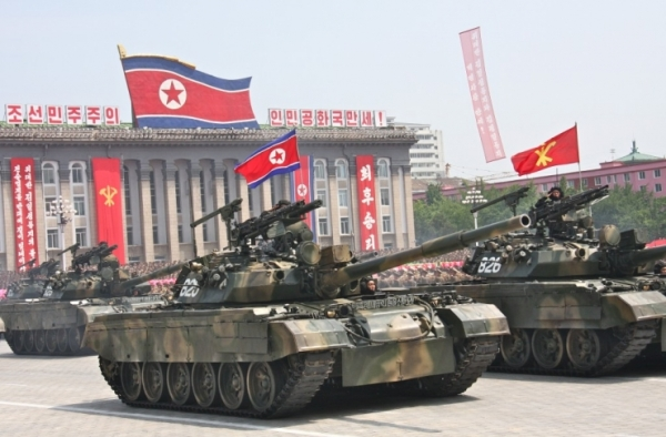 North Korea Pokpung-ho MBT