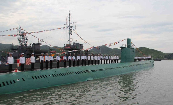 North Korean submarine unknown type