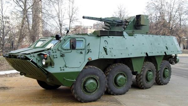 Ukrainian BTR-4 APC