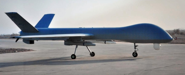 Chinese Wing Loong MALE UAV side view