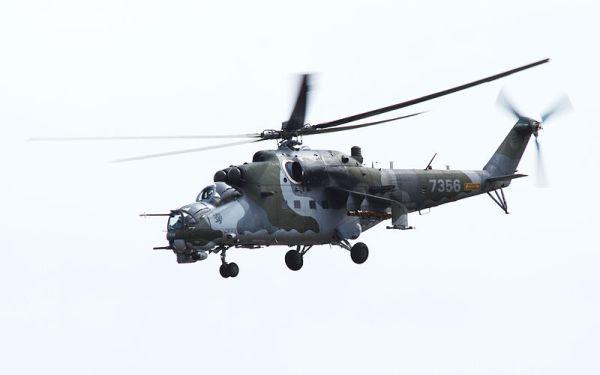Czech Mi-24 Hind gunship