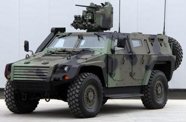 Turkish Otokar Cobra 2 4x4