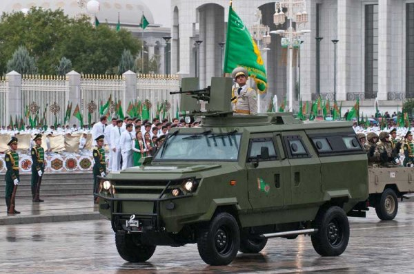 Turkmenistan 4x4 APC