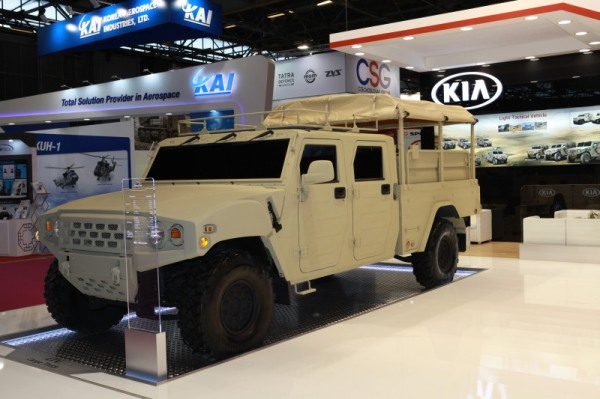 South Korea KLTV cargo truck Eurosatory 2016