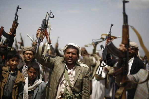 Yemen Tribal Gunman with AK-47