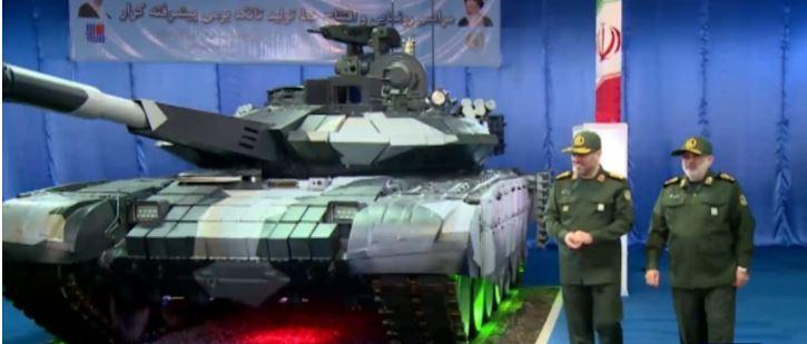 4a10b2c3537b Iran Teased Its Rebranded Russian T-90S Tank
