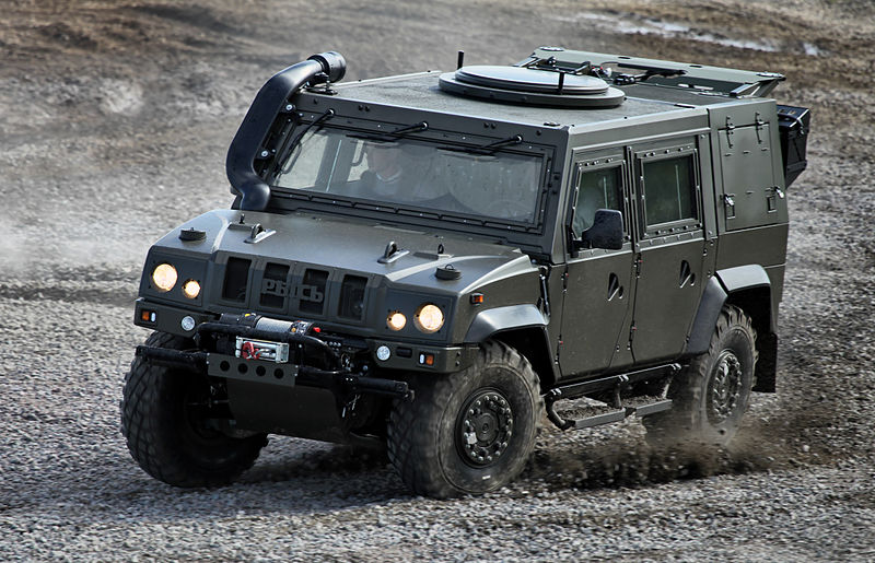 Armored Cars Iveco Light Multirole Vehicle 21st Century