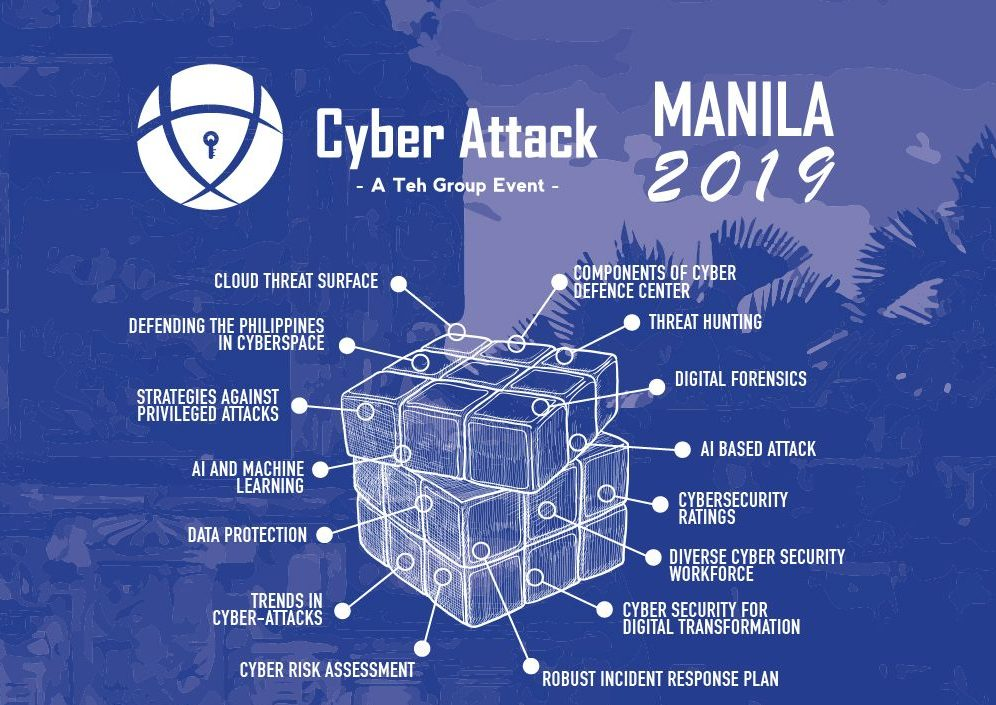 Cyber Attack Manila 2019 Featured A Lot Of Big Names | 21st